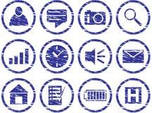 Graphismes d'instrument réglés. Photographie stock libre de droits