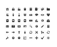 Graphismes d'Internet et d'application Image libre de droits