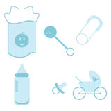 Graphismes de bébé illustration stock