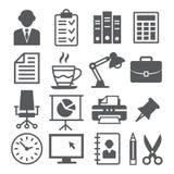 Graphismes de bureau Illustration Stock