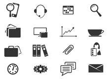 Graphismes de bureau et d'affaires réglés Image libre de droits