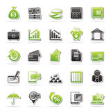 Graphismes de côté, d'affaires et de finances Images stock