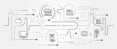 Graphismes de conception graphique image libre de droits