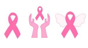 Graphismes de conscience de cancer du sein illustration libre de droits
