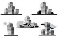 Graphismes de construction. Photos libres de droits