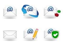 Graphismes de courrier illustration libre de droits