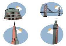 Graphismes de course illustration stock