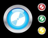 Graphismes de disque Image stock