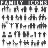 Graphismes de famille réglés illustration libre de droits