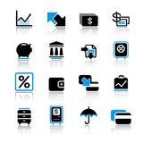 Graphismes de finances Image stock