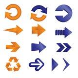 Graphismes de flèche illustration de vecteur