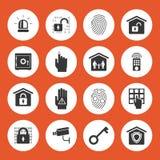 Graphismes de garantie à la maison illustration libre de droits