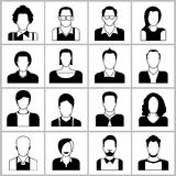 Graphismes de gens Images libres de droits
