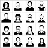 Graphismes de gens Photo stock