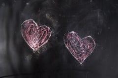 Graphismes de l'amour Photo libre de droits