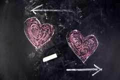 Graphismes de l'amour Images stock