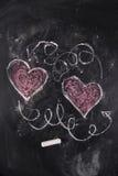 Graphismes de l'amour Image libre de droits