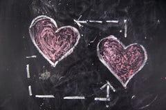 Graphismes de l'amour Photos stock