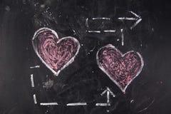 Graphismes de l'amour Photographie stock libre de droits
