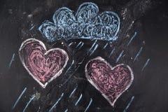 Graphismes de l'amour Images libres de droits