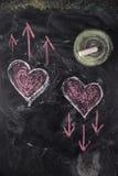 Graphismes de l'amour Image stock