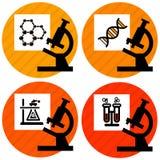 Graphismes de la Science illustration libre de droits