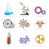 Graphismes de laboratoire illustration stock