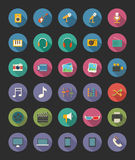 Graphismes de medias illustration stock