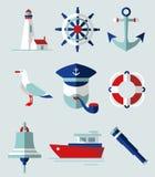 Graphismes de mer illustration de vecteur