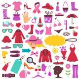 Graphismes de mode et de beauté illustration stock
