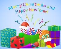 Graphismes de Noël. Ramassage d'objets. Photos stock