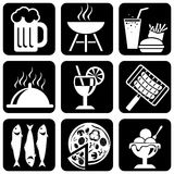 Graphismes de nourriture Image stock