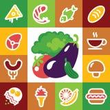 Graphismes de nourriture Photos libres de droits