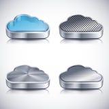 Graphismes de nuage Illustration Libre de Droits