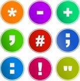 Graphismes de signe de symbole Photo stock