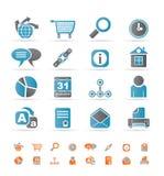 Graphismes de site Web, d'Internet et d'ordinateur Photos stock
