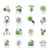 Graphismes de site Web et d'Internet Photographie stock