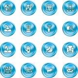 Graphismes de site Web et d'Internet Photos libres de droits