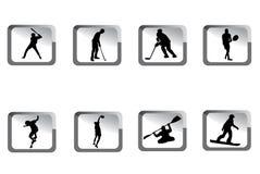 Graphismes de sport illustration stock