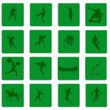 Graphismes de sport Photographie stock libre de droits