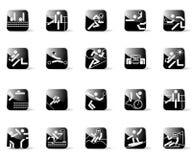 Graphismes de sport Photos libres de droits