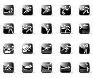 Graphismes de sport Images stock