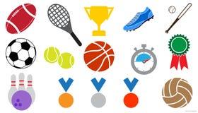 Graphismes de sports réglés illustration stock
