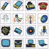 Graphismes de transmission illustration stock