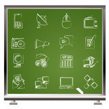Graphismes de transmission et de technologie Photos libres de droits