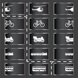 Graphismes de transport Images stock