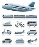 Graphismes de transport Photos libres de droits