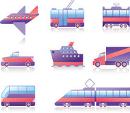 Graphismes de transport Image stock