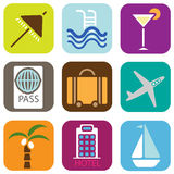 Graphismes de vacances Images libres de droits