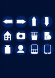 Graphismes de vecteur Image stock